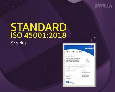 Standard ISO 45001:2018