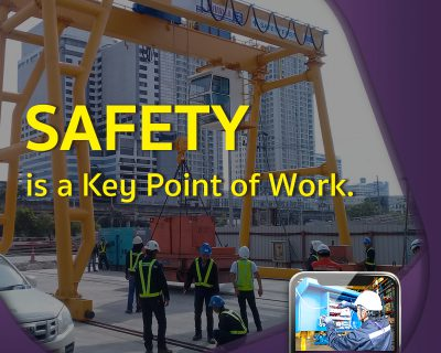 SAEFTY is Key Point Of Work